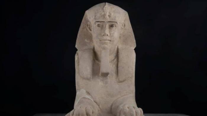 Descubren una nueva esfinge en Templo de Kom Ombo en Egipto