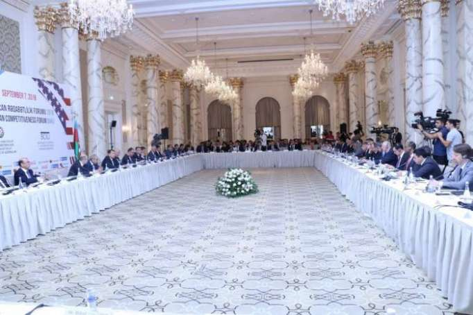 Azerbaijan Competitiveness Forum 2018 kicks off in Baku