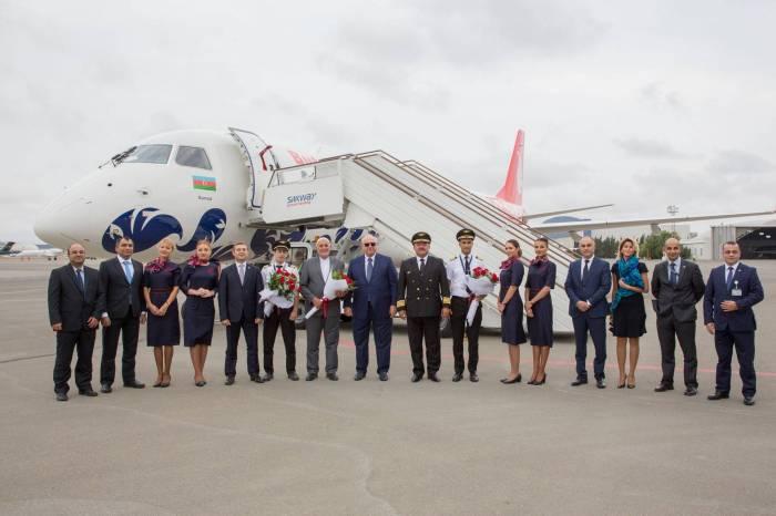 """""""Buta Airways"""" aldığı təyyarəyə Günnüt adı verdi"""