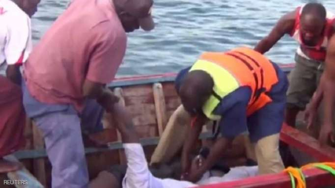 ارتفاع كبير بعدد ضحايا العبّارة في تنزانيا