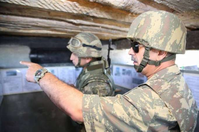 Azerbaijani minister instructs taking tougher measures against shelling by Armenian troops