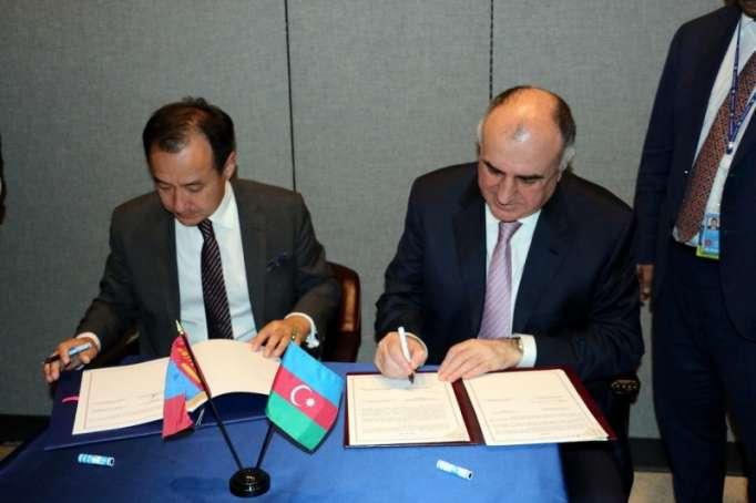 Azərbaycanla Monqolustan arasında viza sazişi imzalandı