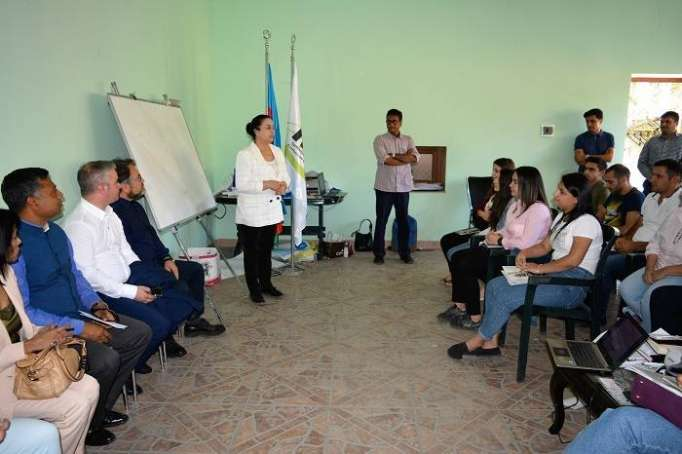 Indian Trainers delivered business development training for Azerbaijani Women and Youth at Lahij