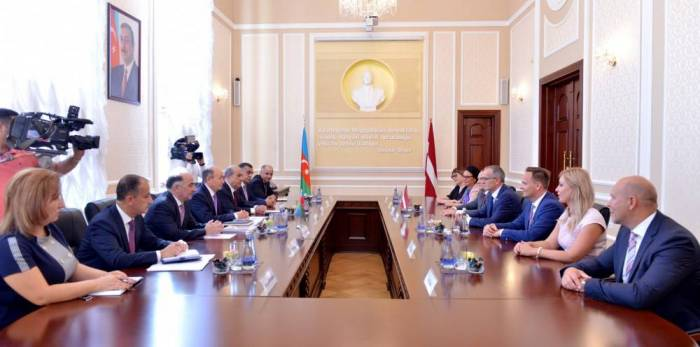 Azerbaijan, Latvia: Ministries of Justice consolidate cooperation