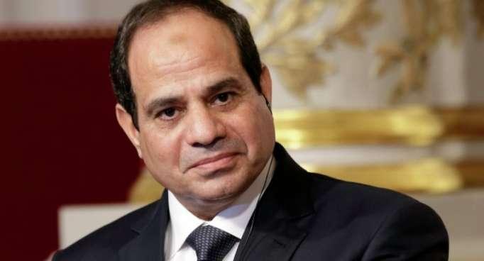 Líder egipcio discute colaboración con jefe del Consejo Europeo y canciller austriaco