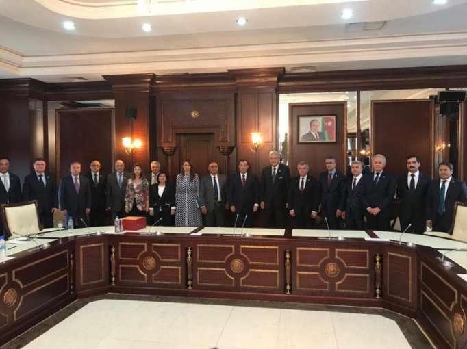 Turkish parliament delegation holds meetings in Azerbaijan