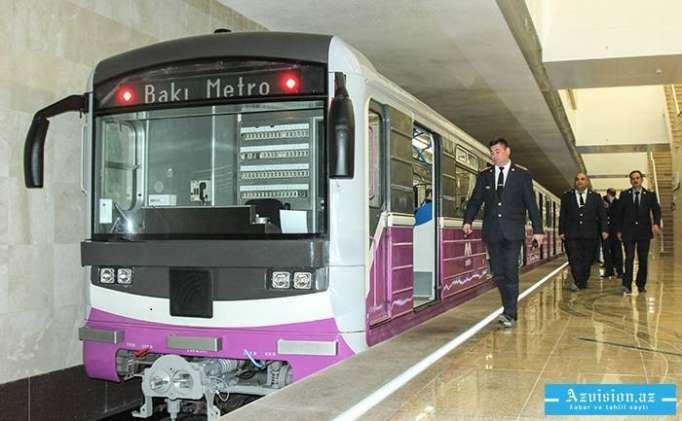 Bakı metrosunda cinayət -