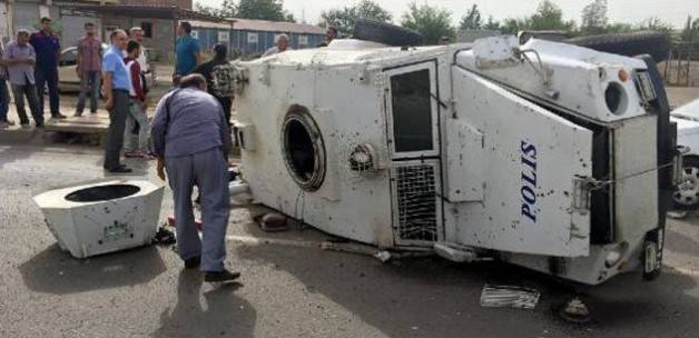 Military vehicle blows up in Turkey
