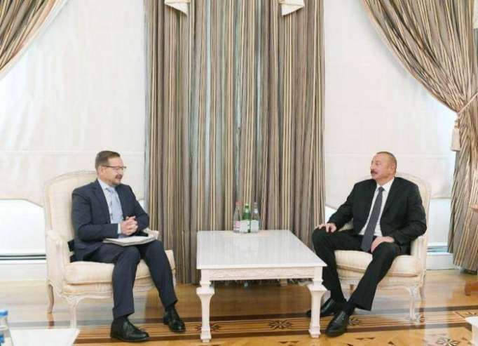 President Ilham Aliyev receives OSCE Secretary General - UPDATED