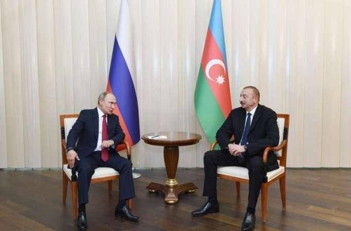 Les relations entre la Russie et l'Azerbaïdjan se développent de manière positive, Poutine