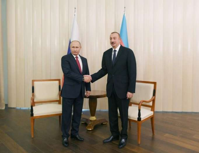 Ilham Aliyev: Russia for Azerbaijan very important, valuable partner and friend