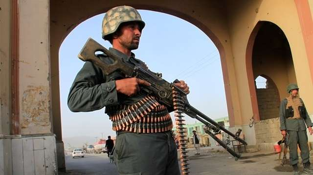 Rockets hit Afghan city during president