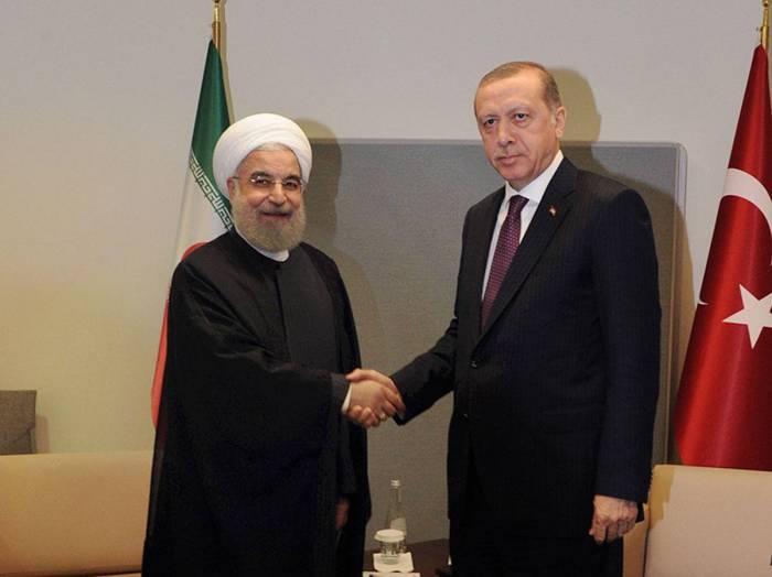 Meeting between Turkish and Iranian presidents kicks off in Tehran