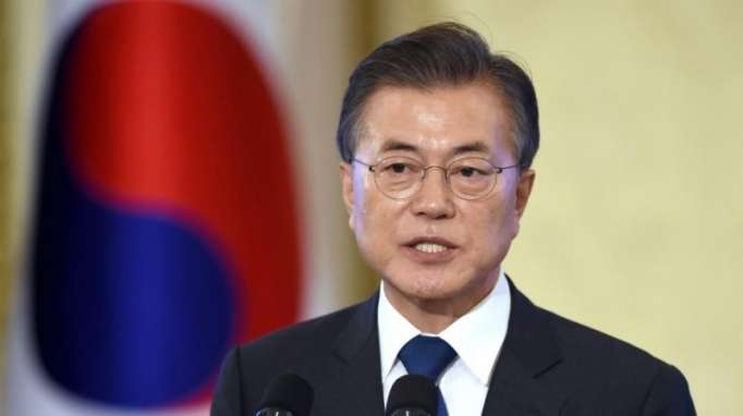 S. Korean president embarks on U.S. trip for summit with Trump on N. Korea