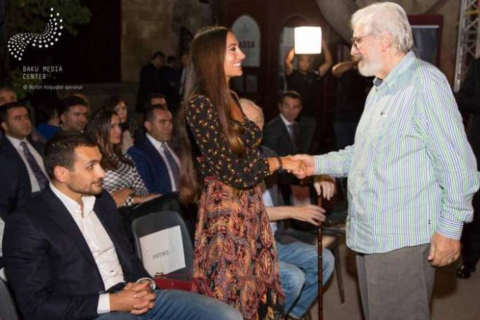President of Baku Media Center Arzu Aliyeva attends music night on 120th anniversary of Azerbaijani cinema