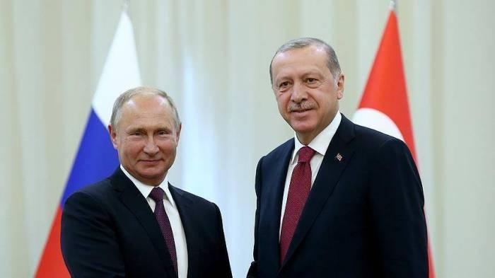 Réunion Erdogan-Poutine à Sotchi, lundi