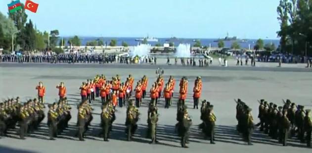 Turkish air force dedicates VIDEO to 100th anniversary of Baku