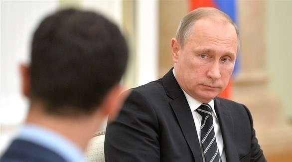 بوتين لا يرد على مكالمات الأسد