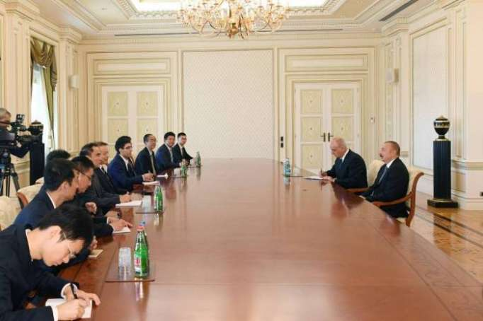 President Ilham Aliyev received delegation led by Xinhua editor-in-chief - UPDATED