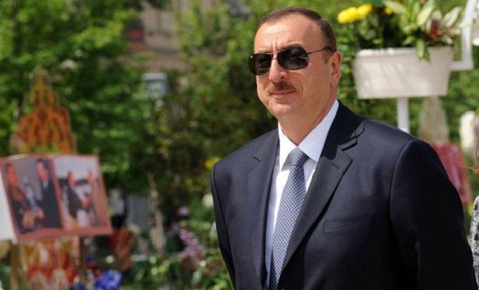 İlham Əliyev Astarada səfərdədir