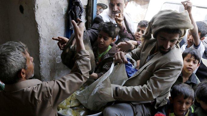 821 Millionen Menschen leiden Hunger