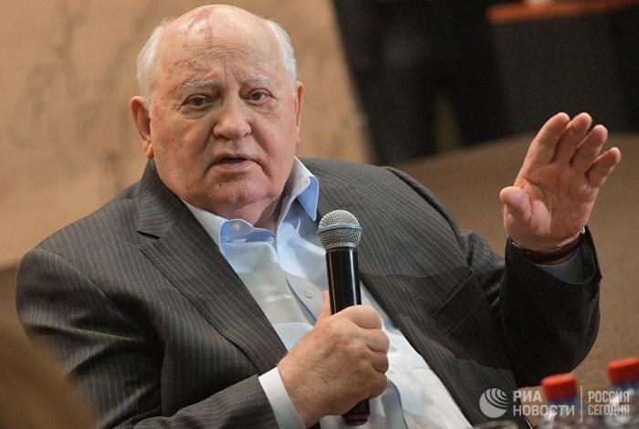 """""""ABŞ yeni silahlanma yarışı elan edir"""" – Qorbaçov"""