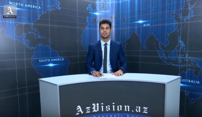 AzVision Nachrichten: Alman dilində günün əsas xəbərləri (8 oktyabr) - VİDEO