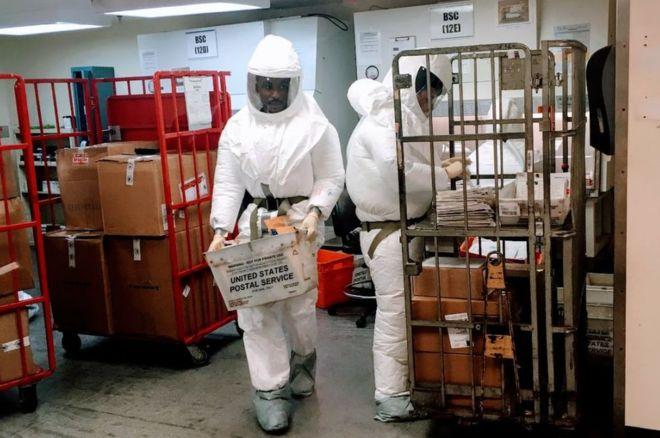 Pentagon quarantine