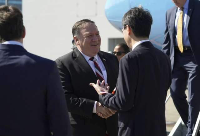 Pompeo in Japan to discuss North Korea en route to Pyongyang