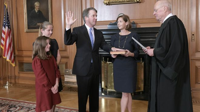Brett Kavanaugh confirmation: Victory for Trump in Supreme Court battle