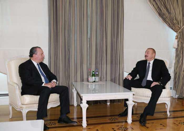 President Ilham Aliyev received President of US-based Foundation for Ethnic Understanding