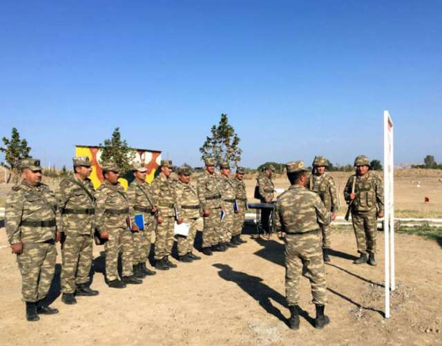 Battalion commanders training sessions complete in Azerbaijan