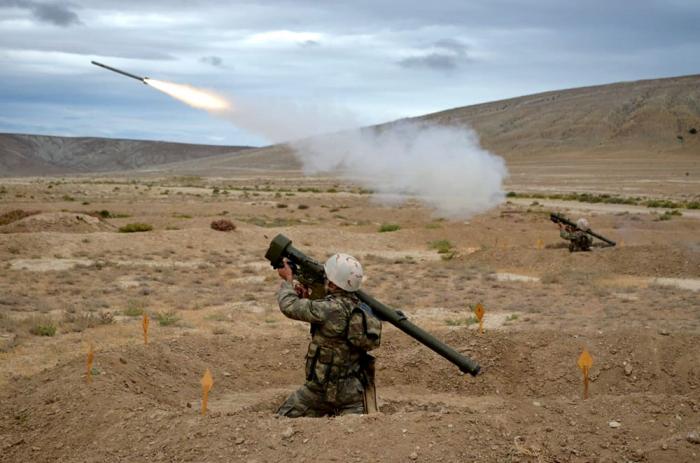 Azerbaijani Air Defense units hold training exercises