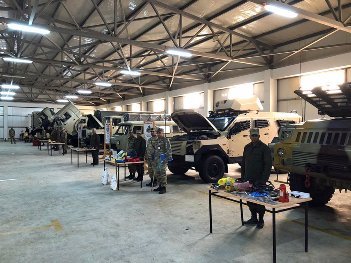 Azerbaijani MoD: Weapons, military equipment are transferred into winter operation mode - VIDEO