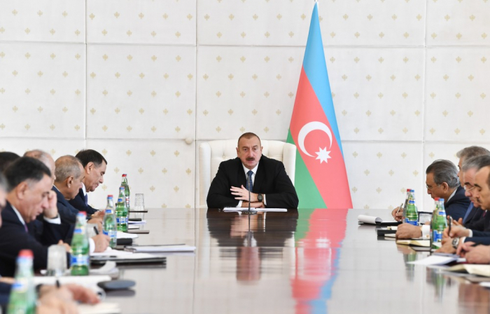 Ilham Aliyev chairs meeting of Cabinet of Ministers