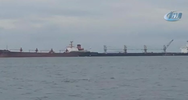 Two ships collide near Istanbul