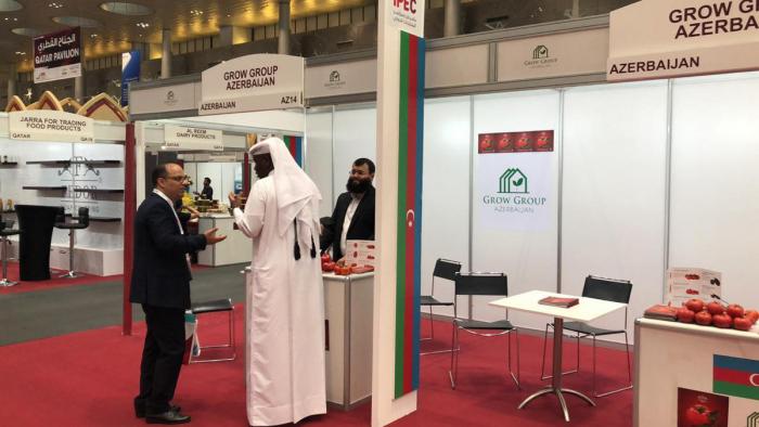 Azerbaijani products on display in Qatar