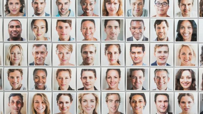 Von der Oma bis Obama - jeder Mensch kennt 5000 Gesichter