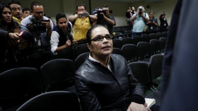 Guatemala ex-VP Roxana Baldetti jailed in