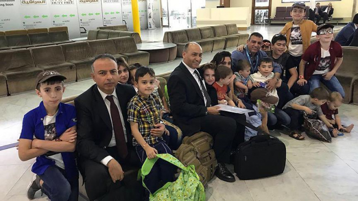 Children of Turkish Daesh parents in Iraq brought back