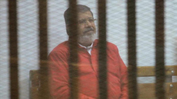 Son of Egypt's jailed ex-president detained