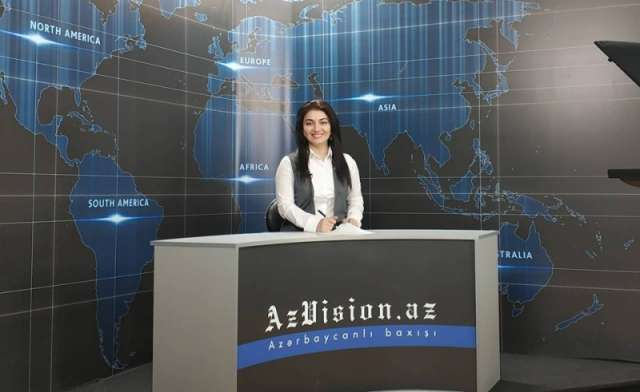 AzVision TV:Die wichtigsten Videonachrichten des Tages aufEnglisch(10. Oktober)-VIDEO