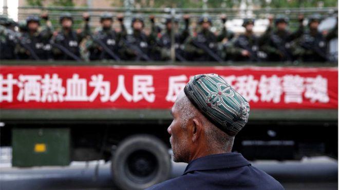 China Uighurs: Xinjiang legalises
