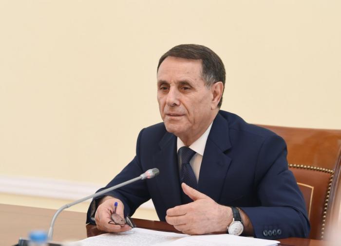 Novruz Məmmədov iclas keçirdi, göstərişlər verdi
