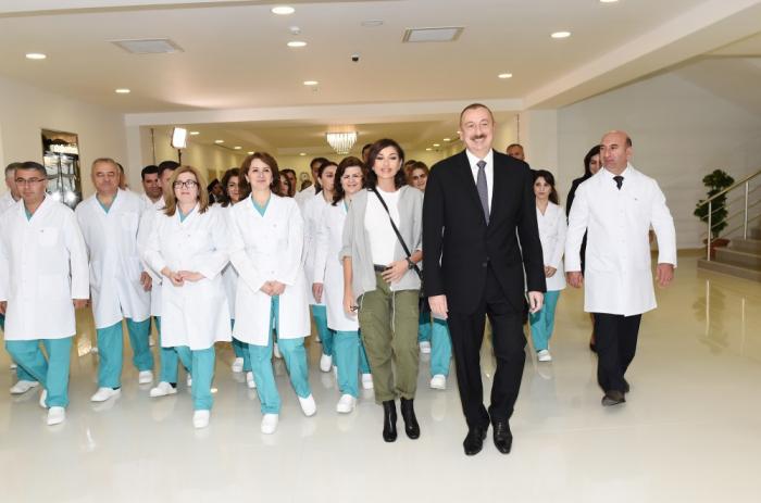 Prezident və birinci xanımın Quba səfərindən FOTOLAR