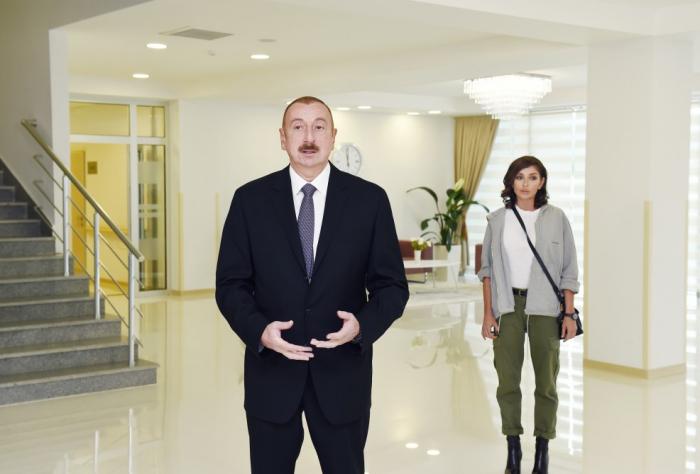 """""""Bir dənə də şəhər qalmayacaq ki, orada ən müasir xəstəxana olmasın"""" - Prezident"""