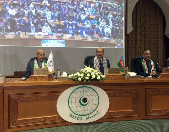Azerbaijani culture minister attends 13th session of ISESCO General Conference in Morocco