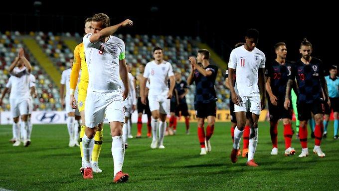 England und Kroatien trennen sich torlos