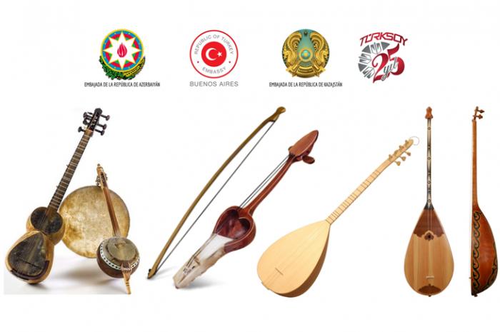 Un gran concierto dedicado a la música de Azerbaiyán, Turquía y Kazajstán se realiza en Argentina