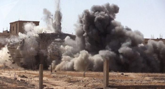 Coalición internacional realiza ataques contra Siria con fósforo blanco